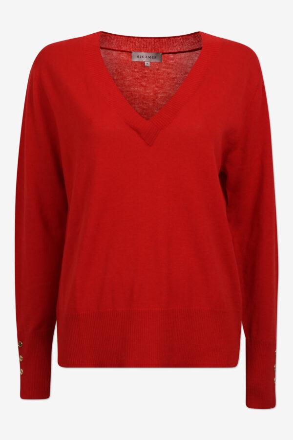 Ambre-red-merino-v-neck-pullover-six-ames.jpg