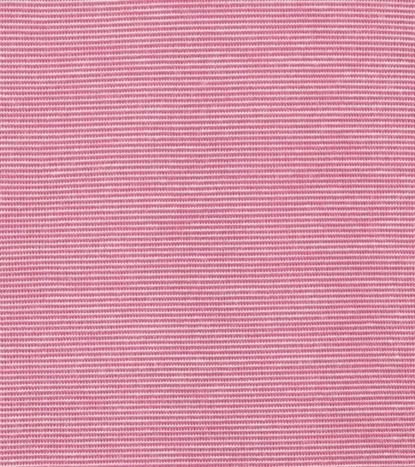 Detail of pink V-neck t-shirt